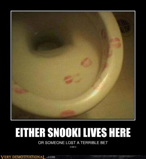 EITHER SNOOKI LIVES HERE OR SOMEONE LOST A TERRIBLE BET ~=~
