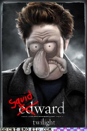edward Spong Bob squidward twilight