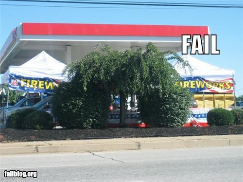bad idea failboat fireworks gas station g rated poor planning safety - 4644314624