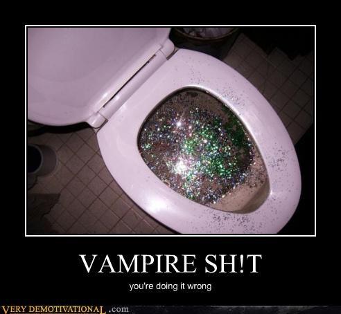poop sparkles vampire