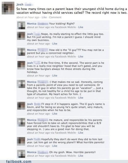A Failbook Guide to Trolling forever alone Home Alone meme trolling win - 4644576512