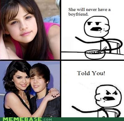 boyfriend cereal guy gay he will never have a girlfriend justin bieber Rage Comics