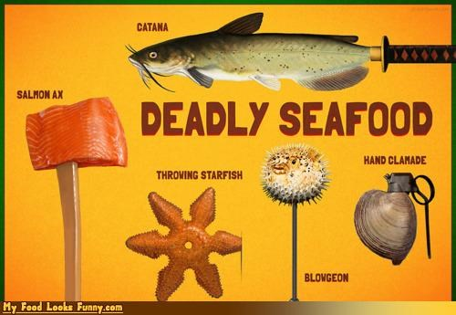 dangerous deadly killer seafood weapons
