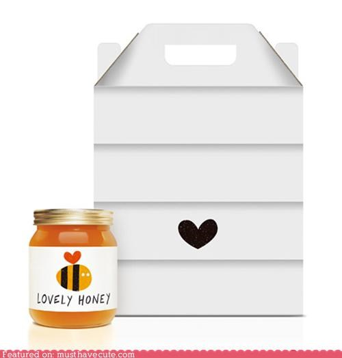 bee box hive honey jar packaging - 4645034496