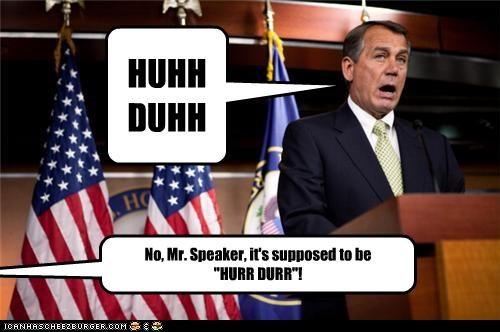 derp john boehner political pictures - 4645232896