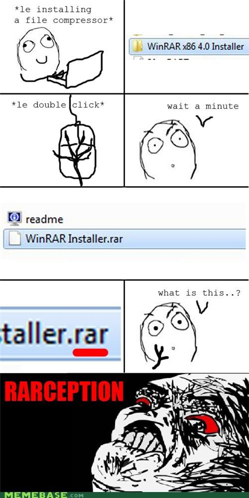 extraction,Inception,Rage Comics,WINRAR,zip