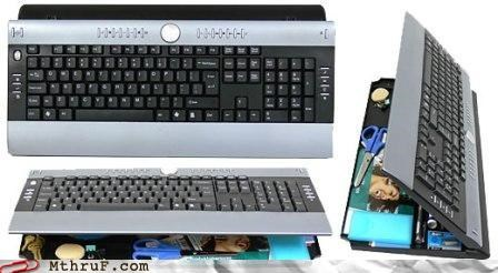 awesome hide keyboard office supplies organizer swag