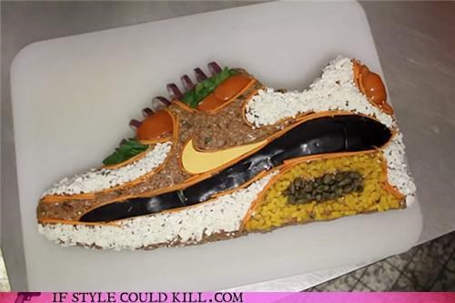 crazy shoes food nike - 4645548800