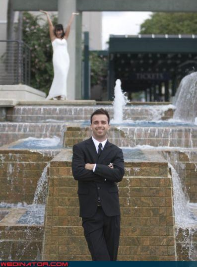 blurry bride funny wedding photos groom - 4646091008
