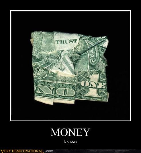 money no one trust