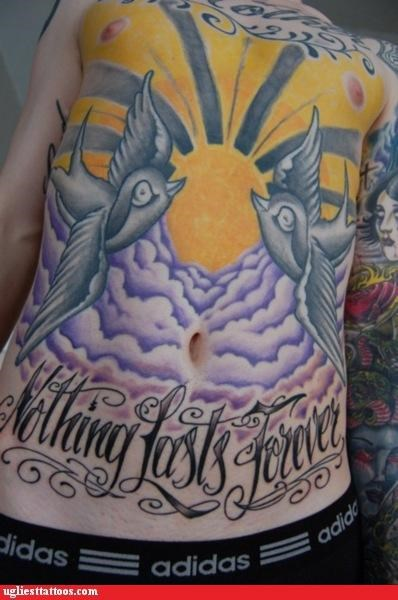 time birds lifetime tattoos funny - 4646519552