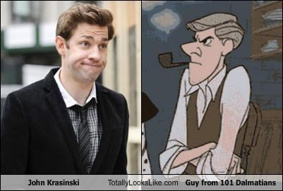 101 dalmatians,actors,cartoons,disney,Hall of Fame,john krasinski,movies,roger radcliffe