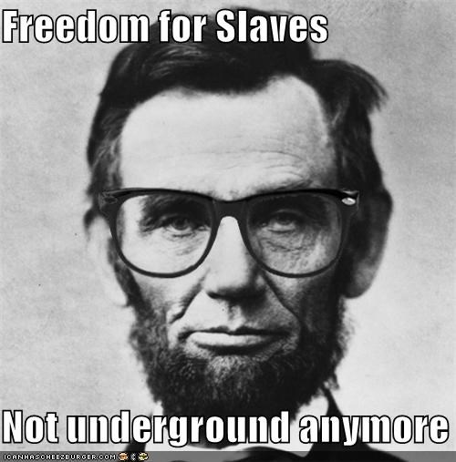 hipster hipster-disney-friends lincoln slaves underground railroad - 4646639616