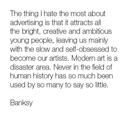 banksy,quote