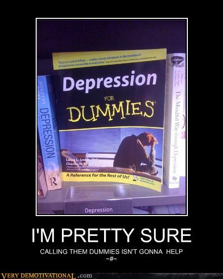 book depression dummies - 4647632128