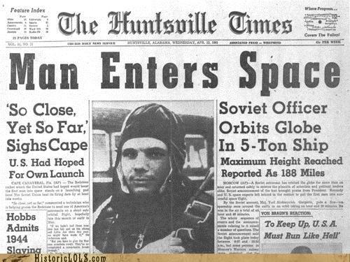 astronaut cosmonaut hero russia space yuri gagarin - 4647720704