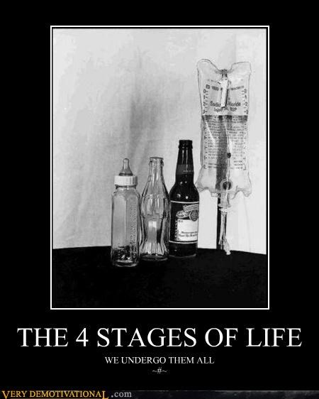 THE 4 STAGES OF LIFE WE UNDERGO THEM ALL ~#~