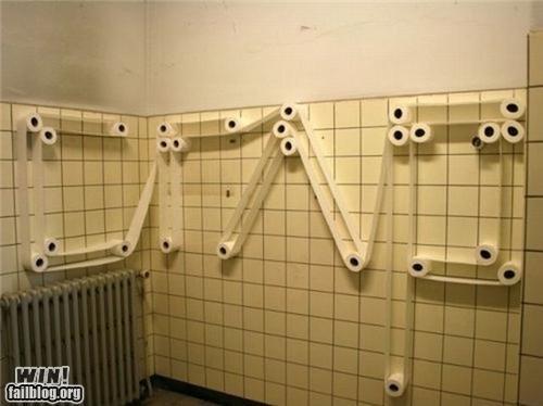art clever crap-bathroom toilet paper - 4648057600