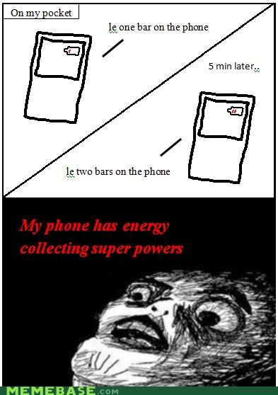 charge electric phone pocket Rage Comics - 4648082688