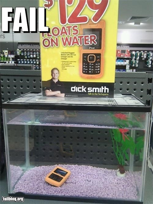 displays embarrassing failboat floating g rated mobile phones water - 4648086528