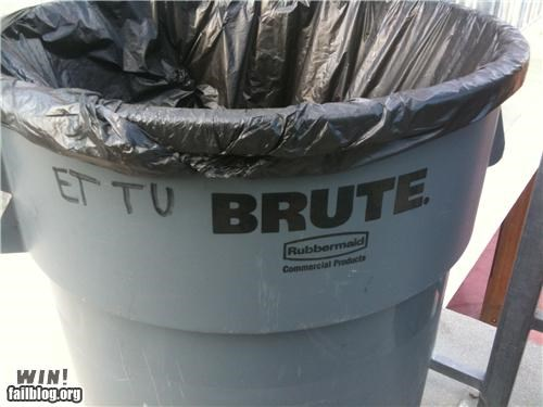 latin,quotes,trash can