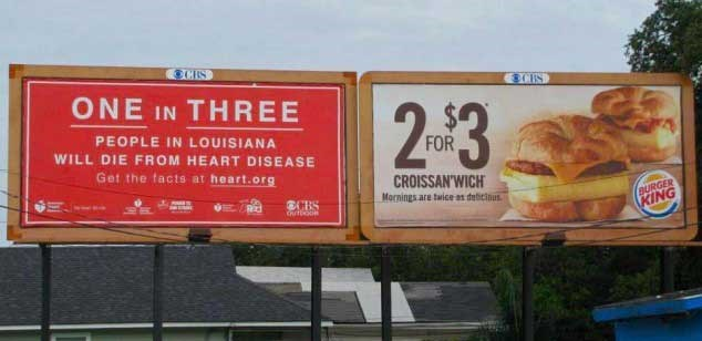 billboard matching cheezcake funny - 4648197