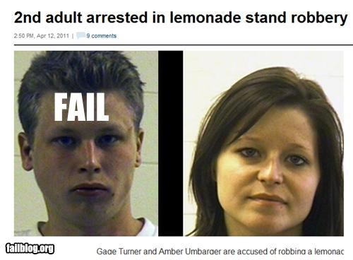 failboat g rated kids lemonade Probably bad News robbery stealing - 4648255744