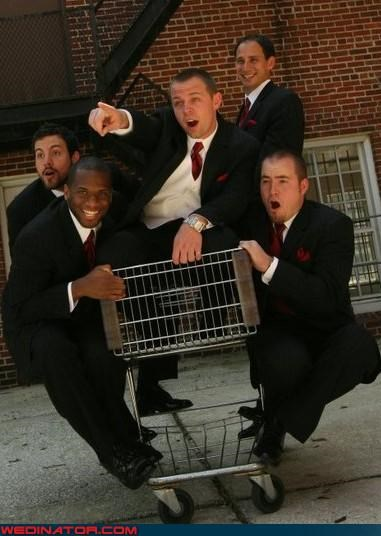 funny wedding photos groom Groomsmen - 4648719616