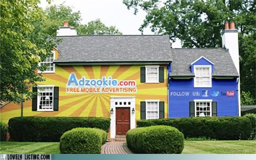 ads,advertising,mortgage,over the top,paint