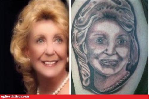 portraits tattoos funny derp - 4649520384