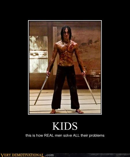 fight kids ninja swords - 4649848832