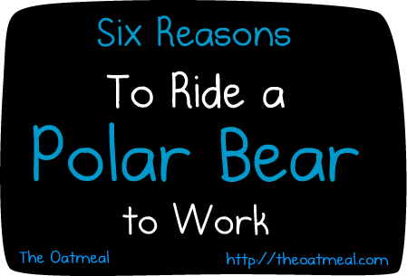 ride polar bear work web comics - 4650245