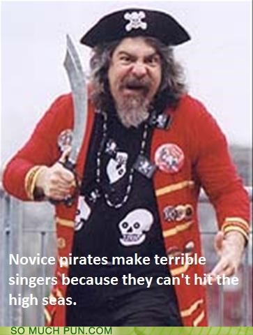 c double meaning high homophone novice pirates sea seas singer singers singing terrible