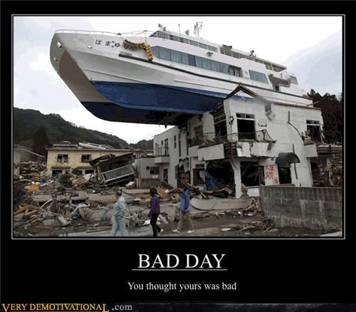 bad day,boat,flood,shipwrecked