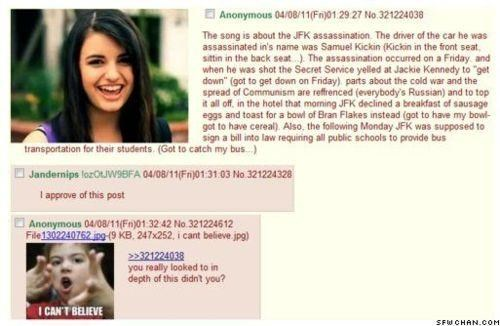 Conspiracy Theory FRIDAY Rebecca Black this-changes-everything - 4650775552
