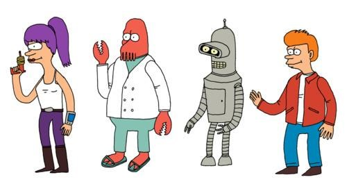 Art Project,futurama,Jack Teagle