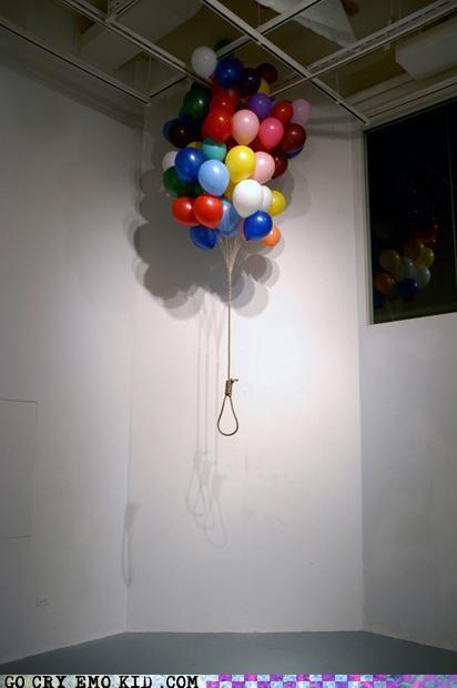 Balloons emolulz fun noose suicide - 4651762944