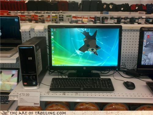 computer store cracked desktop IRL marines screen - 4651775488