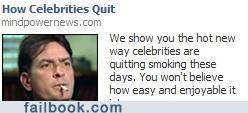 Ad Charlie Sheen quitting winning - 4651962112