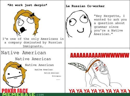 native american Rage Comics russia ya ya ya - 4652014336