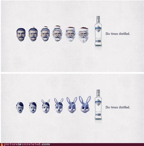 advertisement hitler lenin vodka - 4652386816