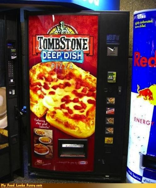 convenient pizza robot tombstone vending machine