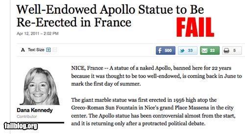 failboat headline innuendo p33n Probably bad News - 4652620544