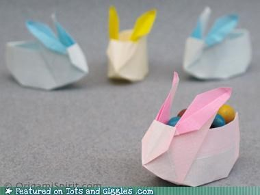 adorable craft of the day easter rabbits - 4652918784