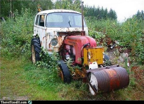 abomineering,dual use,tractor,truck,van,wtf