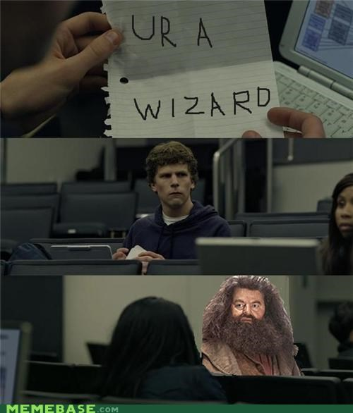Hagrid,harry,movies,wizard,zuckerberg