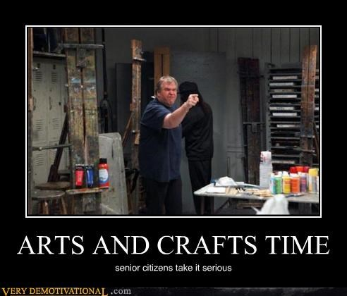 angry,arts and crafts,senor citizens