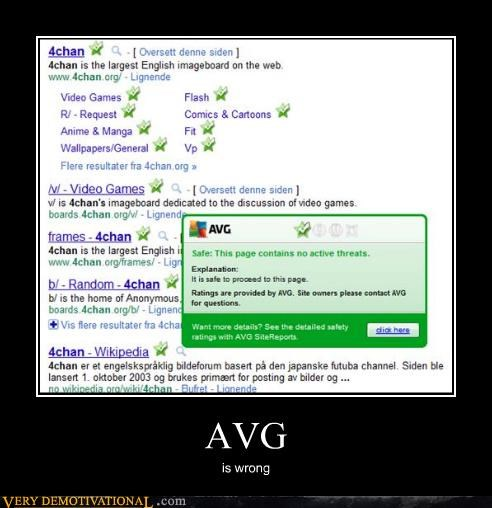 AVG is wrong