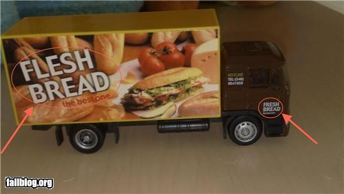 bread failboat food g rated spelling truck zombie