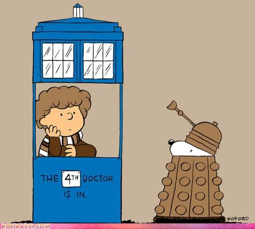art cool doctor who Hall of Fame peanuts sci fi - 4654606336